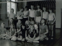 Emmaschool  1974 gym in easterein