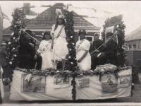 Feest 1922 staatspensioenering met Willem v Dijk