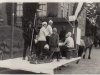 Feest 1934 met Hubert Bergsma als baanveger